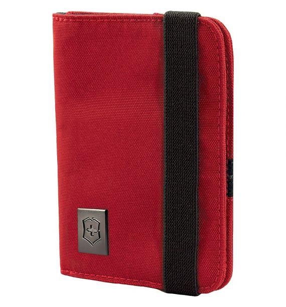 Victorinox omotač pasoša sa RFID zaštitom crveni