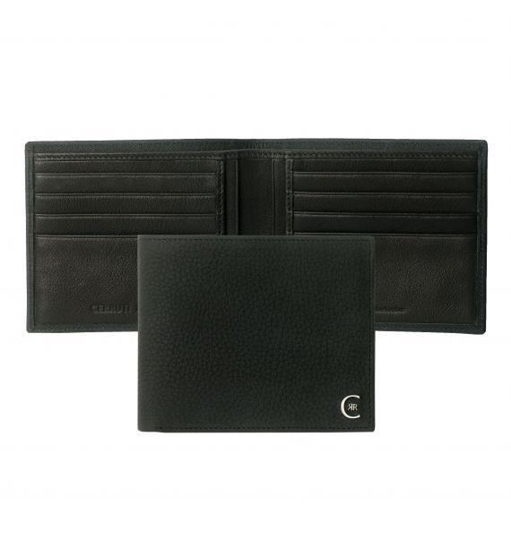 CERRUTI 1881 CARD WALLET HAMILTON BLACK NLW711A