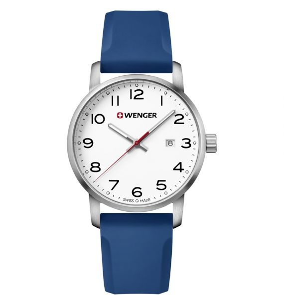 Avenue 42mm white/blue 01.1641.107