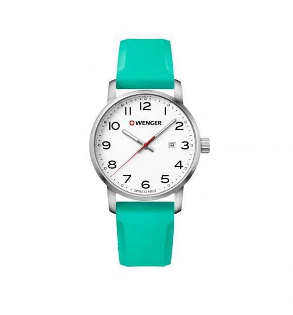 Avenue 42mm white/turquoise 01.1641.108