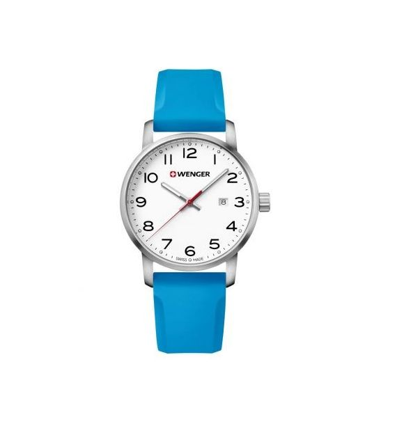 Avenue 42mm white/light blue 01.1641.109