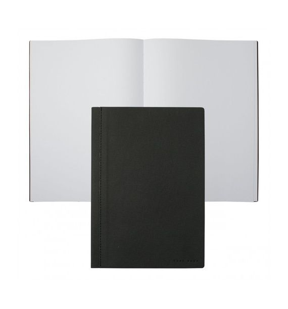 HUGO BOSS NOTEBOOK A4 ADV.FABRIC D.GRAY HNF705J