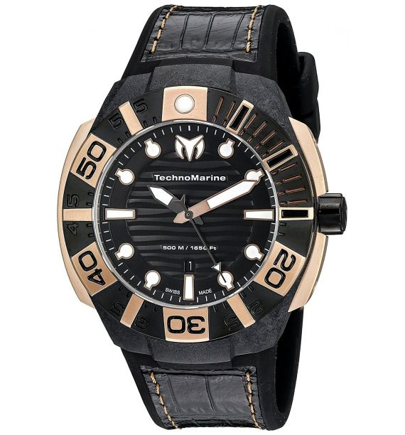 TECHNOMARINE BLACK REEF CARBON 45MM 514002
