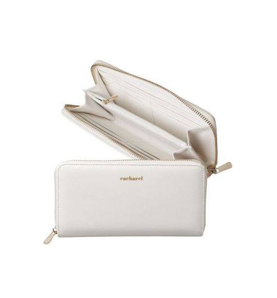 CACHAREL LADY PURSE BAGATELLE BLANC CEL636F