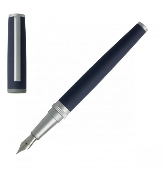 HUGO BOSS FOUNTAIN PEN GEAR BLUE HSG8022N
