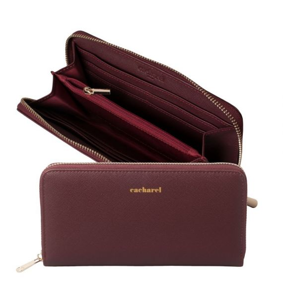 CACHAREL LADY PURSE BAGATELLE BORDEAUX CEL636P