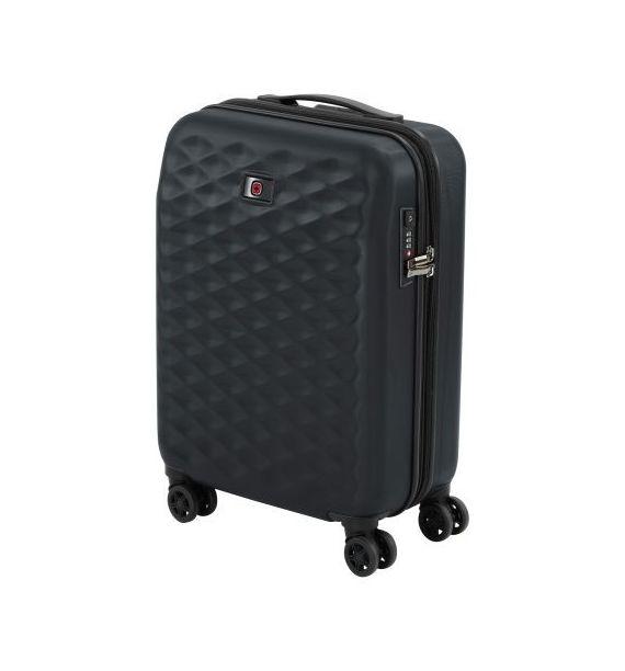 """Wenger Lumen Hardside Luggage  20"""" crni"""