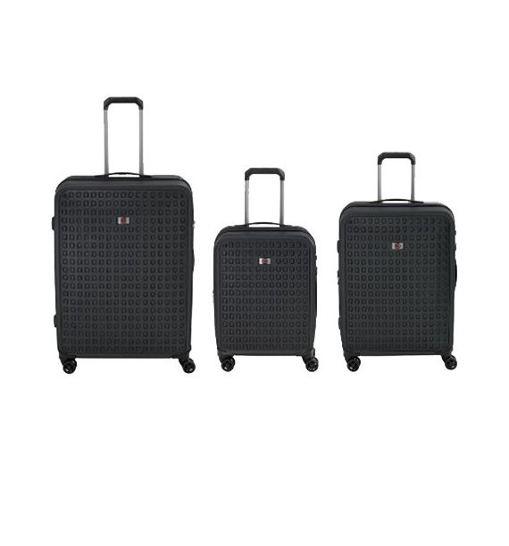 Wenger Matrix Hardside Luggage set 20,24,29, crni