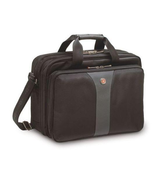 "Wenger Legacy 16"" Double Gusset Laptop aktovka, siva"