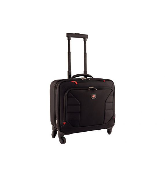 Wenger Interchange 17 Deluxe Wheeled Laptop aktovka, crna