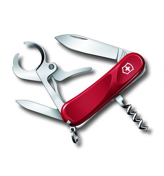 Victorinox nož Evo Grip + Sekač cigara, 85 mm Crveni 25703.E