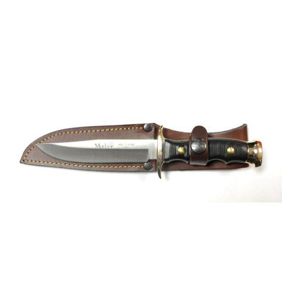 Muela lovački nož 12cm koža, 42242