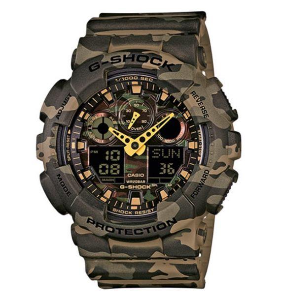 Casio sat G-Shock GA-100CM-5AER