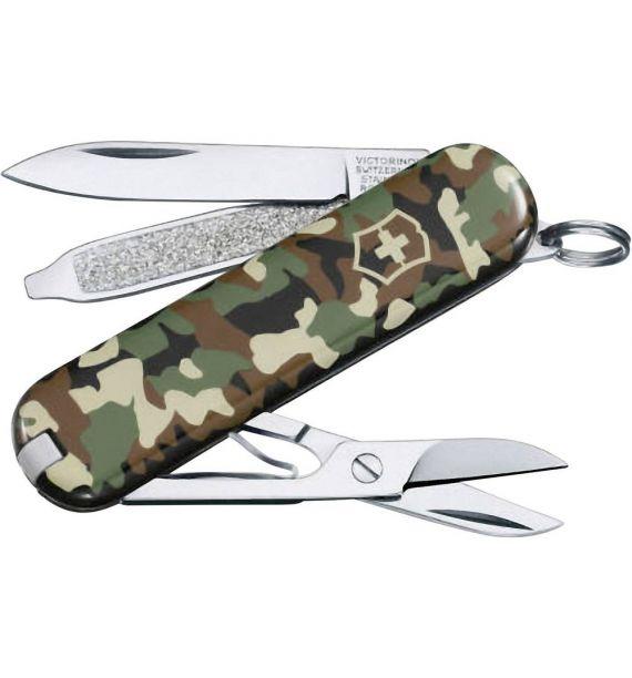 Victorinox nož Classic 58mm Camouflage 0622394