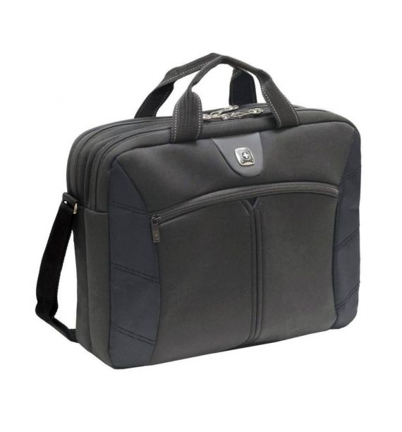 Wenger Sherpa Double Slimcase torba, crna
