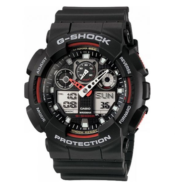 Casio sat G-Shock GA-100-1A4