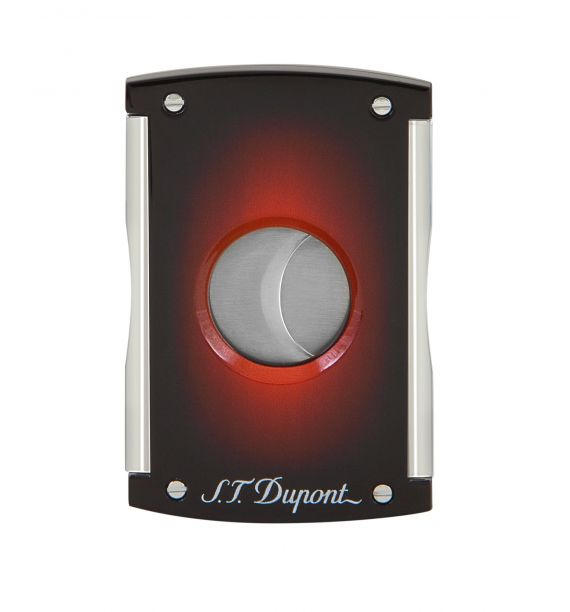 DUPONT CIGAR CUTTER SUNBURST BROWN 003414