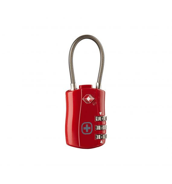 Wenger Cable lock TSA, Red (R) 604570