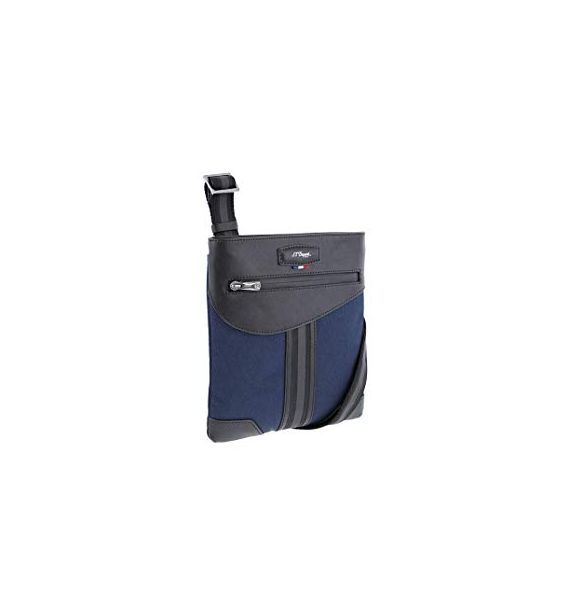 DUPONT SMALL ZIP BAG DEFI MILL BLUE 173005