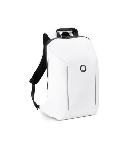 "DELSEY SECURAN 1CPT BACKPACK PC PROTECTION 14"" WHITE 00102061057"