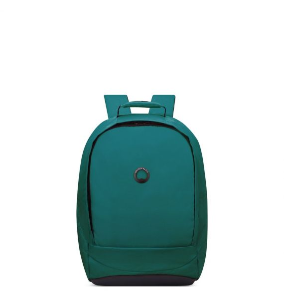 "DELSEY SECURBAN 1 CPT BACKPACK PC PROTECTION ""15,6""-GREEN 00333460003"